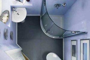 дизайн ванной с туалетом 3 кв.м фото 15
