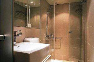 дизайн ванной с туалетом 3 кв.м фото 17