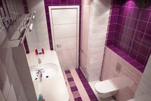 дизайн ванной с туалетом 3 кв.м фото 18