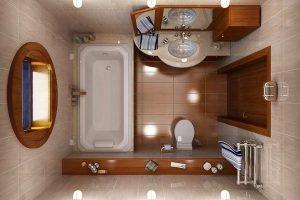 дизайн ванной с туалетом 3 кв.м фото 26