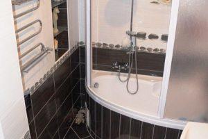 дизайн ванной с туалетом 3 кв.м фото 30