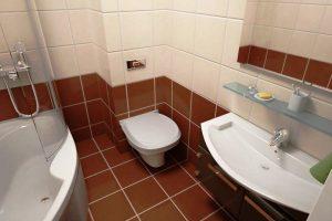 дизайн ванной с туалетом 3 кв.м фото 40