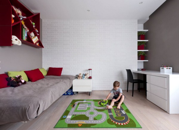 интерьер детской для мальчика фото