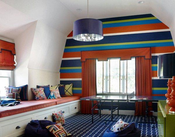 интерьер детской комнаты для мальчиков фото