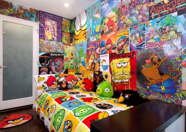 интерьер комнаты для мальчика фото 3
