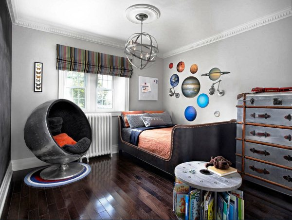 интерьер комнаты для мальчика фото 6