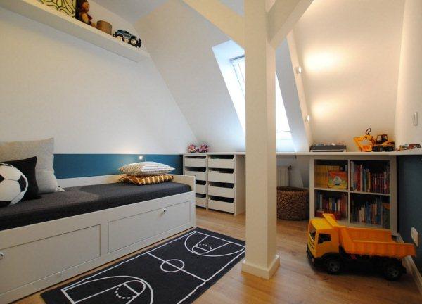 интерьер комнаты для мальчика фото