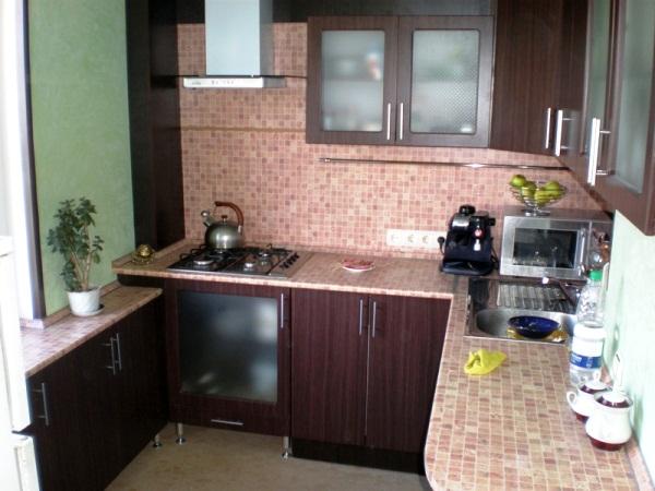 интерьер маленькой кухни 5 кв м фото 2