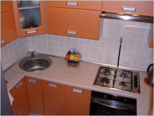 интерьер маленькой кухни 5 кв м фото 4