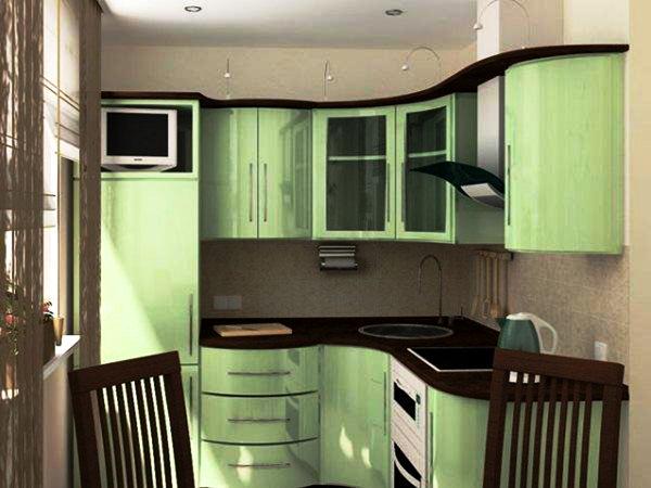 интерьер маленькой кухни 5 кв м фото 5