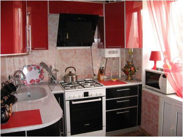интерьер маленькой кухни 5 кв м фото 6