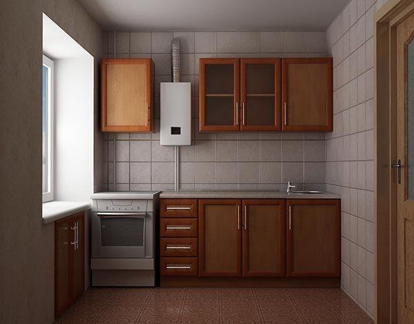 интерьер маленькой кухни 5 кв м фото 7