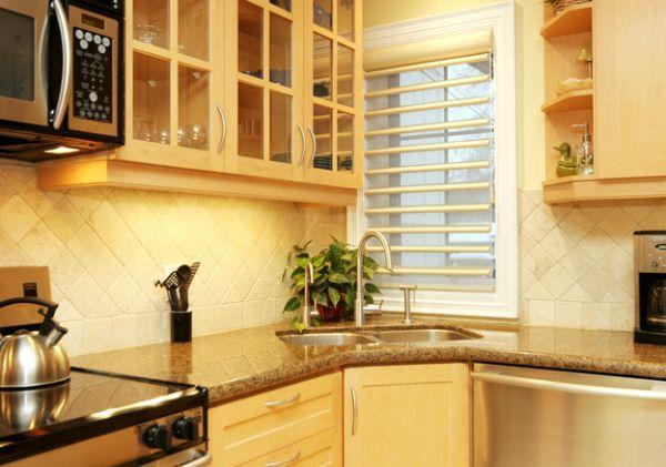 интерьер маленькой кухни 5 кв м фото