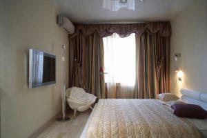 интерьер малогабаритной спальни фото 11