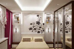 интерьер малогабаритной спальни фото 21