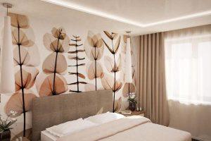 интерьер малогабаритной спальни фото 28