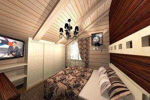 интерьер малогабаритной спальни фото 31