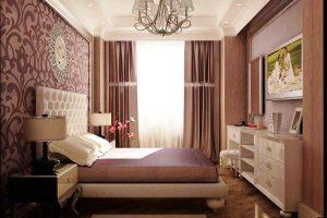 интерьер малогабаритной спальни фото 34