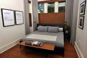 интерьер малогабаритной спальни фото 9