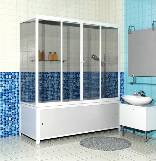 ширма для ванной раздвижная фото
