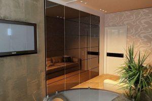 шкаф-купе в гостиную фото 27