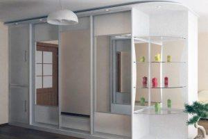 шкаф-купе в гостиную фото 30