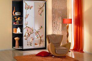 шкаф-купе в гостиную фото 4