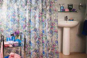 шторки для ванной фото 18