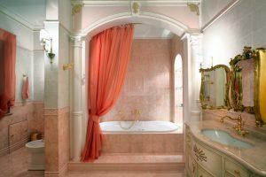 шторки для ванной фото 23