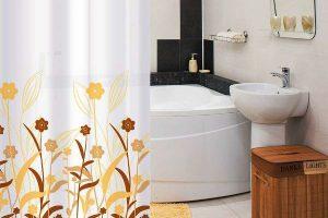 шторки для ванной фото 27