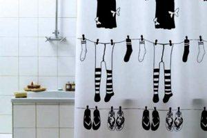 шторки для ванной фото 39