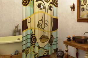 шторки для ванной фото 43