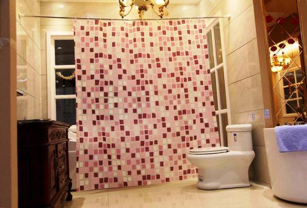 шторки для ванной фото 5