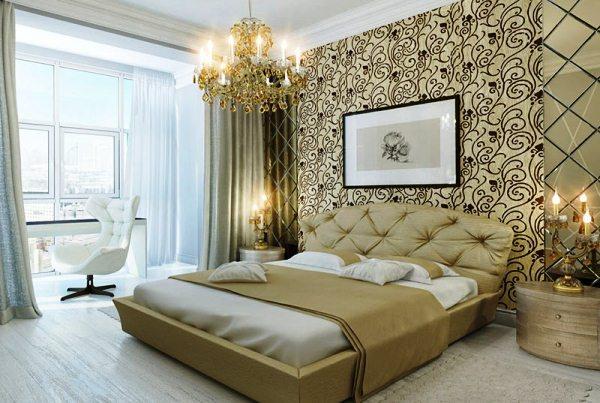 спальня по фен шуй расположение кровати фото 7