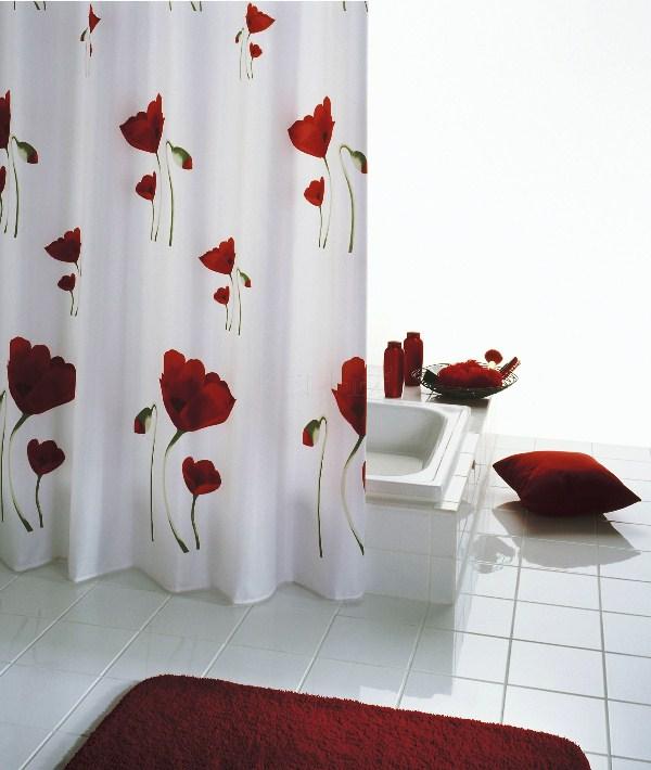 занавески в ванную комнату фото