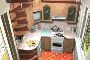 кухня в хрущевке дизайн фото 20