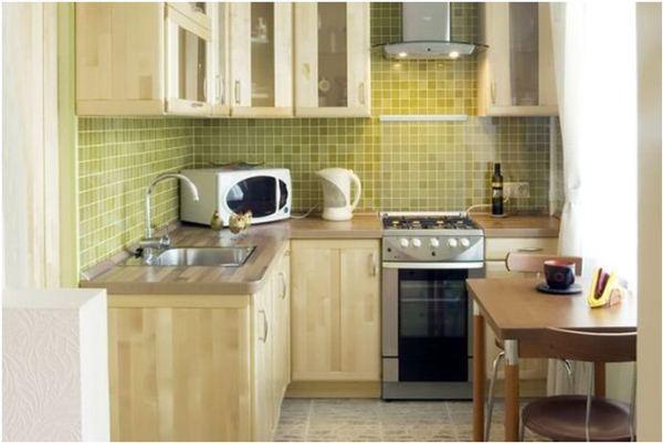 кухня в хрущевке дизайн фото 3