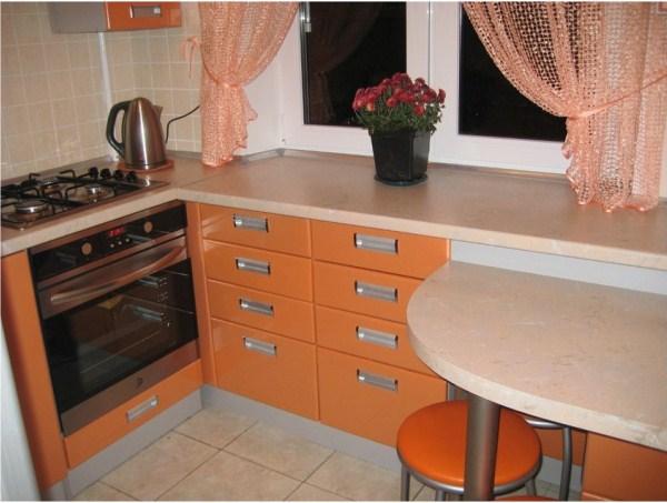 кухня в хрущевке дизайн фото 4