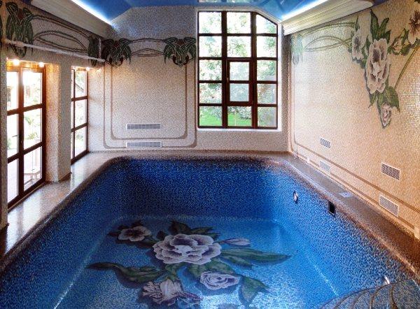мозаика для бассейна фото 14