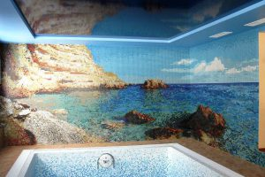 мозаика для бассейна фото 17