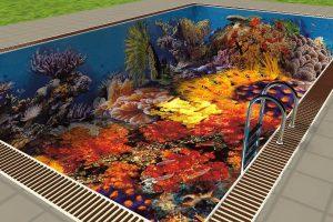 мозаика для бассейна фото 22