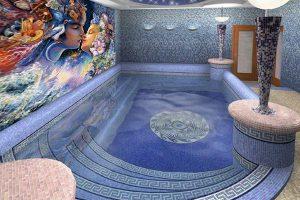 мозаика для бассейна фото 35