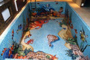 мозаика для бассейна фото 36