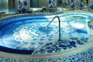 мозаика для бассейна фото 47
