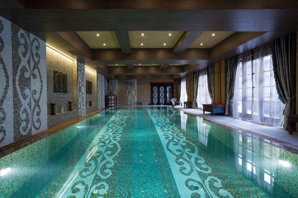 мозаика для бассейна фото