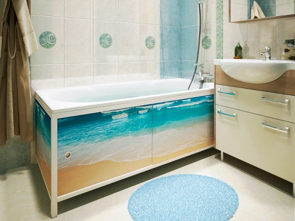 экран под ванну фото