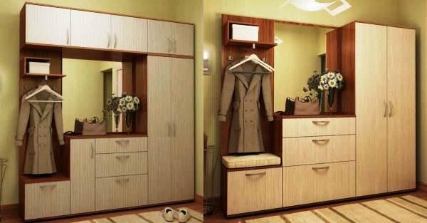 дизайн мебели для прихожей фото