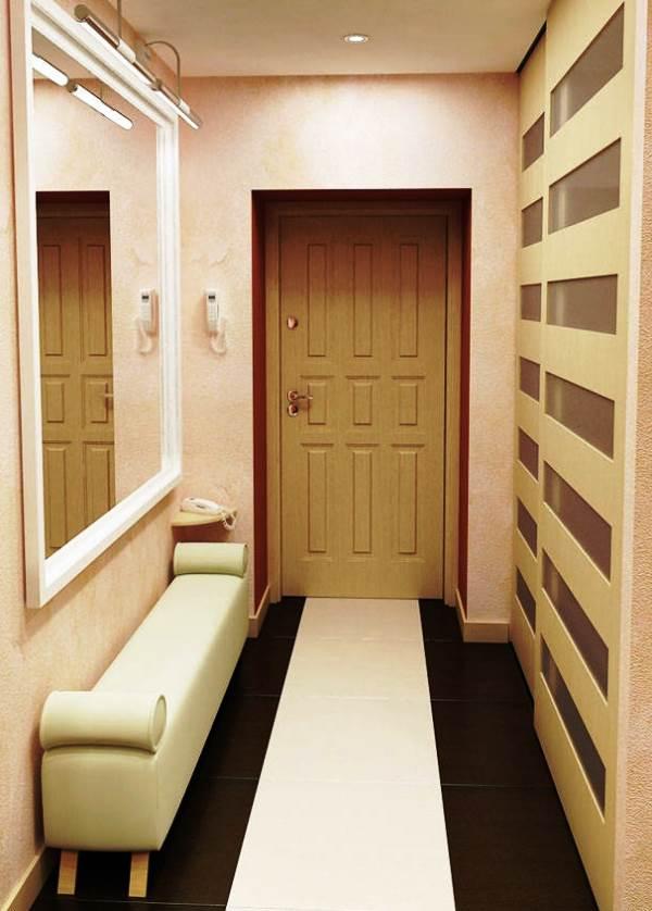 прихожие фото для узких коридоров в квартире
