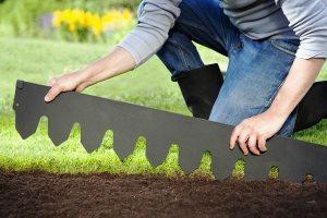бордюрная лента для сада