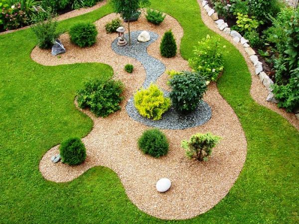лента бордюрная садовая фото